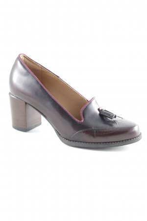 Clarks Loafers bordeaux classic style