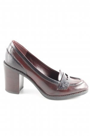 Clarks Loafers brown red Brit look