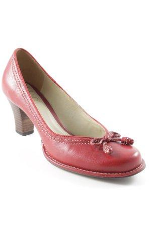 Clarks Zapatos Informales rojo ladrillo look casual
