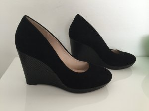 Clarks Wedges Keilabsatz Pumps Wildleder Gr.38,5 NEU!