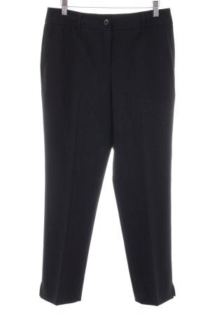 Clasen Anzughose schwarz klassischer Stil