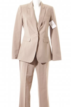 Class International Hosenanzug beige Business-Look