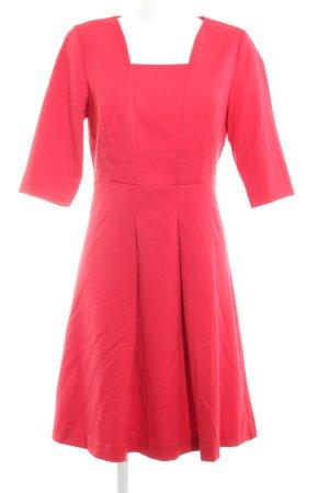 Class Robe à manches courtes rouge élégant