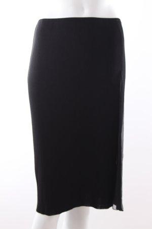 Roberto Cavalli Jupe tricotée noir viscose