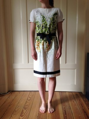 Roberto Cavalli Midi-jurk veelkleurig Katoen