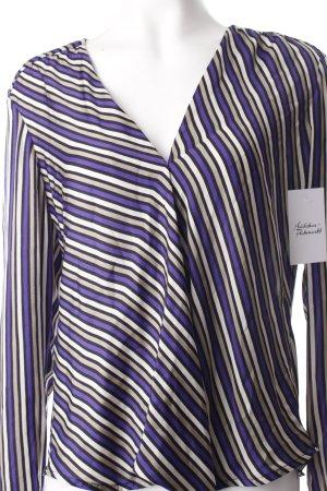 Class Schlupf-Bluse Streifenmuster klassischer Stil