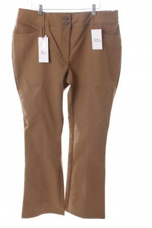 Class Stretch Trousers sand brown classic style
