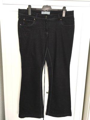 Classic Bootcut Jeans Gr. 46 - schwarz