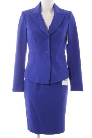 Classic Damespak blauw zakelijke stijl