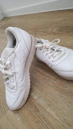 Classic Sneaker in weiß von Reebok, Gr. 36.5 Echtleder