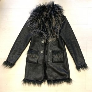 Pelt Coat black-light brown polyester