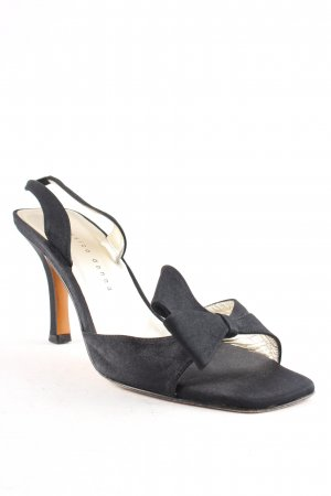 Classico Donna Strapped High-Heeled Sandals black classic style