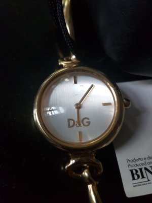 Dolce & Gabbana Watch With Metal Strap gold-colored stainless steel