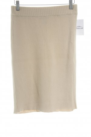 Claude Barthelemy Wollrock beige Casual-Look