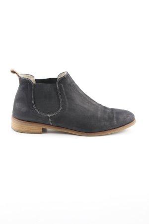 Claudia Obert Chelsea Boots anthrazit Casual-Look