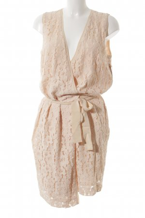 Claudia Sträter Robe portefeuille abricot style romantique