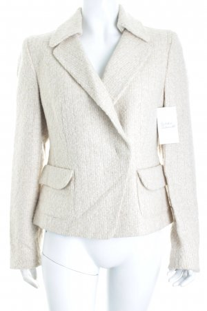 Claudia Sträter Woll-Blazer creme Business-Look