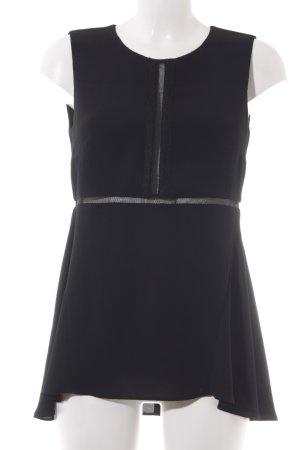 Claudie Pierlot ärmellose Bluse schwarz Elegant