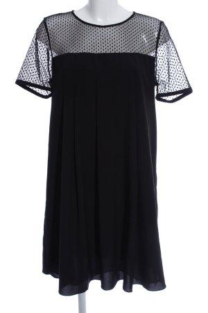 Claudie Pierlot Kurzarmkleid schwarz Elegant