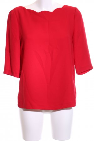 Claudie Pierlot Langarm-Bluse rot Business-Look