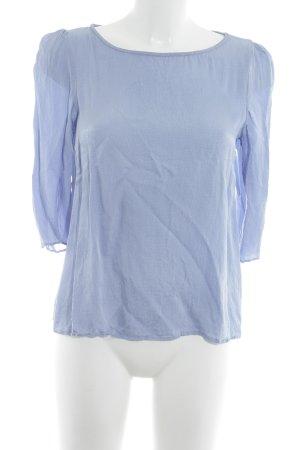 Claudie Pierlot Langarm-Bluse stahlblau Casual-Look