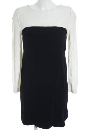 Claudie Pierlot Minikleid schwarz-wollweiß Business-Look