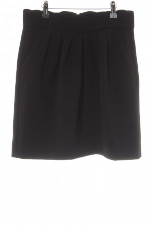 Claudie Pierlot Minirock schwarz Business-Look