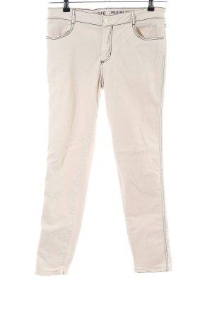 Claudie Pierlot Slim Jeans creme Casual-Look