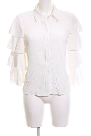 Claudie Pierlot Lace Blouse natural white elegant