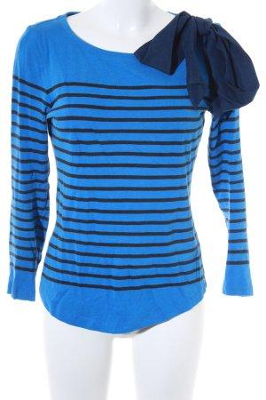 Claudie Pierlot Camisa tejida estampado a rayas look casual