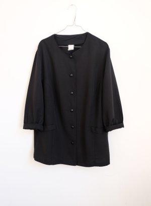 cleanchic blazer schwarz oversize minimal S M kasten
