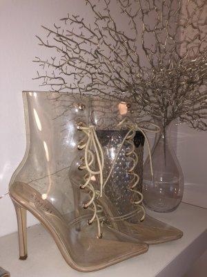 Low boot beige