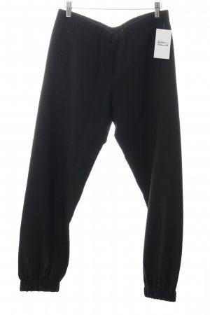 Clemens en August Woolen Trousers black new wool