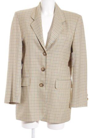 Clément Long Blazer check pattern casual look