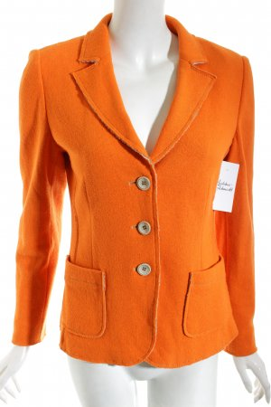 Clément Knitted Blazer orange-beige casual look