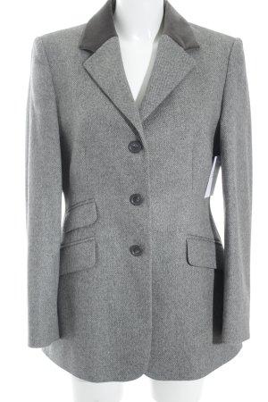 Clément Woll-Blazer hellgrau-grau klassischer Stil