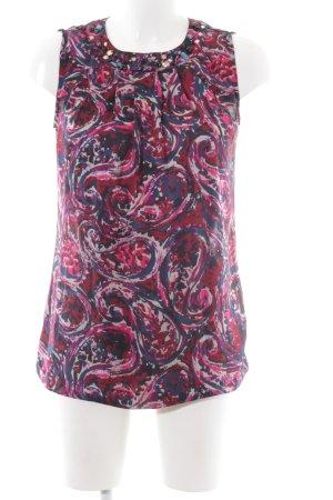 Clements Ribeiro ärmellose Bluse abstraktes Muster Casual-Look