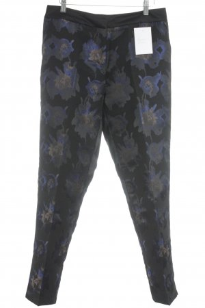 Clements Ribeiro Bundfaltenhose florales Muster klassischer Stil