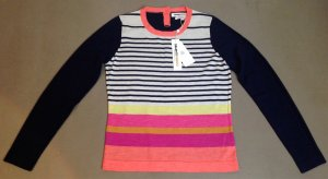 * CLEMENTS RIBEIRO * NEU ! PULLOVER 100% MERINO WOLLE bunt Gr M 38