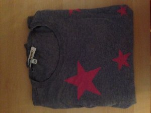 Clements Riberio Pullover mit Rosa Sternen