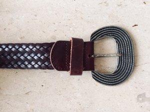 Geflochtene Kunstleder Armband Schlüsselanhänger Schlüsselanhänger Auto FBB