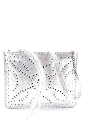 Cleobella Mini Bag silver-colored extravagant style