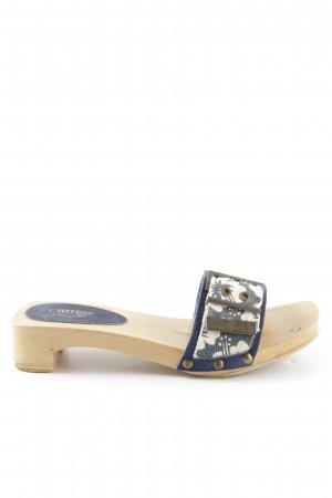 Cliffton Clog Sandals multicolored casual look
