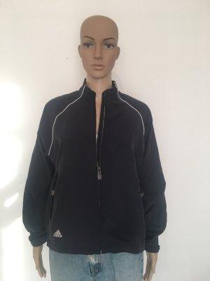 Adidas Windjack donkerblauw-wit Polyester