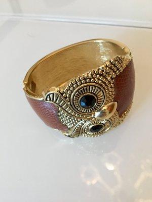 Clip Armreif in Gold