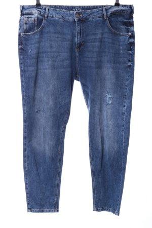 Clockhouse Baggy Jeans cornflower blue-steel blue casual look