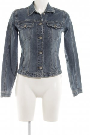 Clockhouse Jeansjacke blau Jeans-Optik