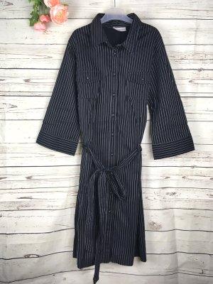 Clockhouse Kleid Hemdblusenkleid gestreift