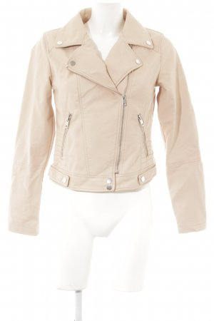 Clockhouse Lederjacke altrosa Casual-Look
