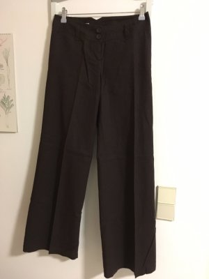 Clockhouse Linen Pants dark brown
